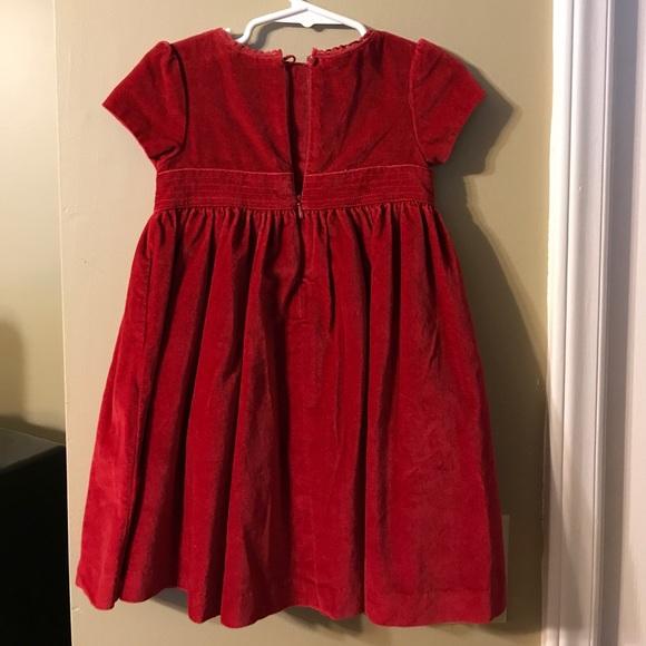 off GAP Other Red velvet Baby Gap 2T dress from