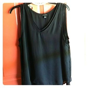 Final Ann taylor double layer flowy blouse nwot