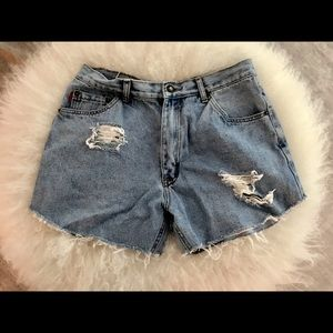 Vintage Pants - Vintage Denim Shorts