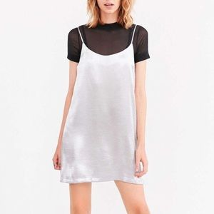 Urban Outfitters Dresses - Urban Outfitters Satin Slip Dress