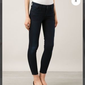 Goldsign Denim - Goldsign glam skinny crop jeans