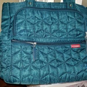 Skip Hop Handbags - Skip Hop Quiltted Diaper Bag