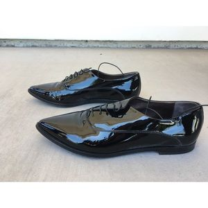 Agl Shoes - AGL made in Italy patent leather shoes.