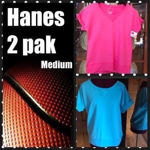 Hanes Tops - Hanes 2 pack