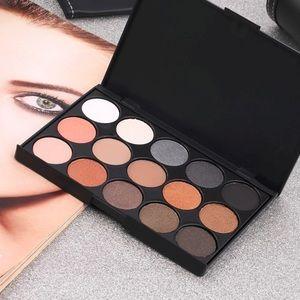 SALE15-Color Shimmer & Matte Eyeshadow Palette