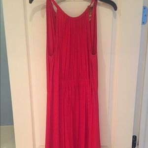 Kate Spade Red Halter Dress