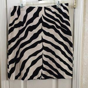 Isaac Mizrahi Dresses & Skirts - Zebra skirt