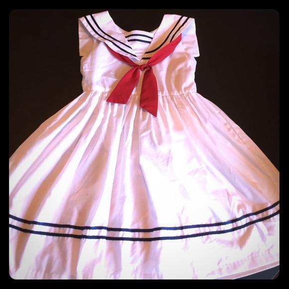 300d7ae7c26f2 Jayne Copeland Dresses   Size 6 Sailor Dress   Poshmark