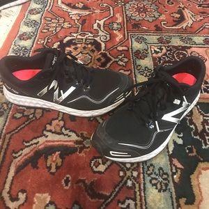 Black New Balance Fresh Foam Zante running shoes