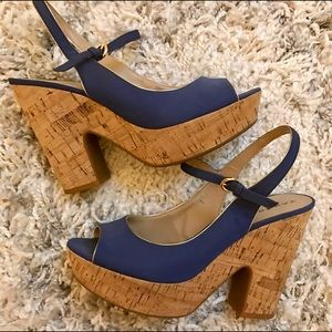 Tahari Shoes - summer cork sandals