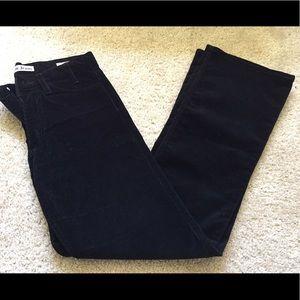 Acne Pants - Acne black corduroy pants size 27