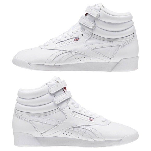 8aa2290d92107 Reebok Freestyle Hi OG Lux in White 👟✨