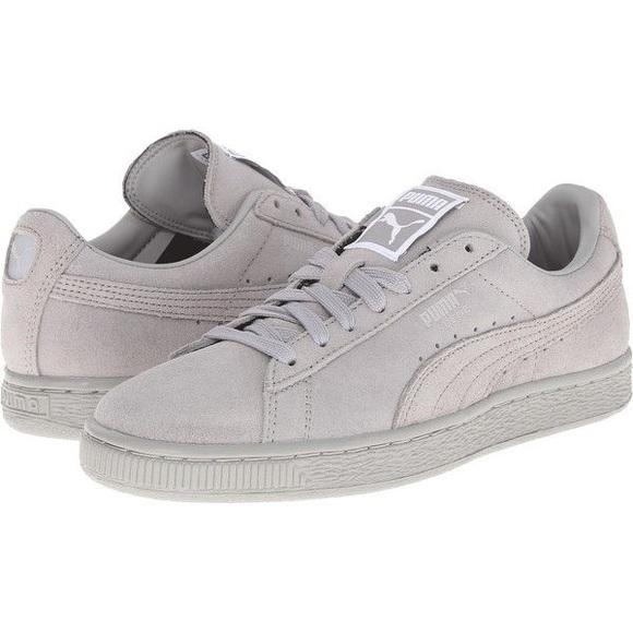 Men S Grey Puma Shoes