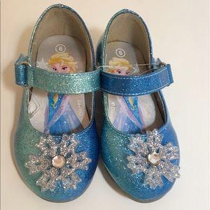 5d0cff77052 Disney Shoes - Disney Frozen Elsa Girls  Dress Shoes Size 6 ...
