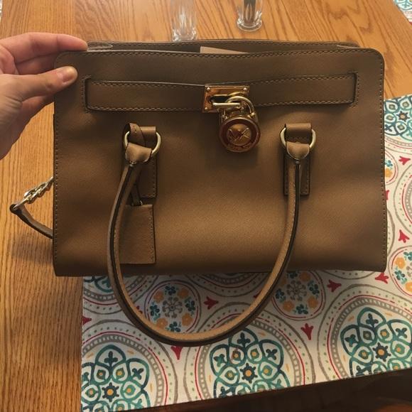 8cd16541bd4b1b Michael Kors Hamilton satchel. M_592c9fd2f0928290db01d135. Other Bags ...