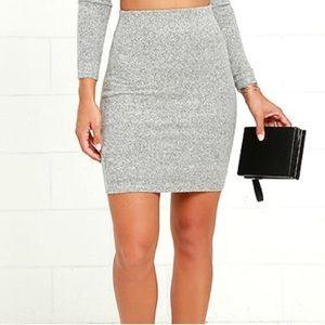 Lulu's Grey Skirt *NEW*