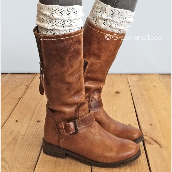 store release date: good NWOT Knee high frilly under boots socks✨ NWT