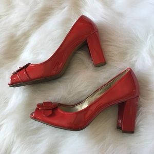 Etienne Aigner Shoes - Etienne Aigner red shoes size 10