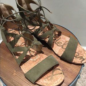 0485b6c761e7d Sam Edelman Shoes - sam edelman dean caged sandal green size 9.5