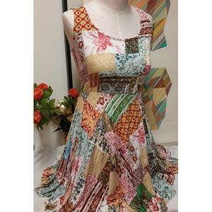 American Rag Dresses & Skirts - Multi-colored print American Rag Cie skater dress