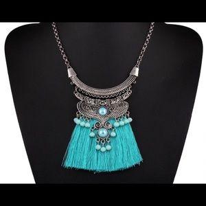 Ethnic Women Fashion Tassel Necklace