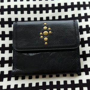 NWT Ellington Black Leather Wallet