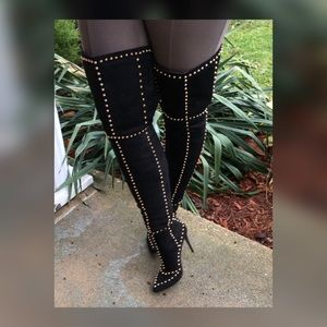 Shoes - Over The Knee Boots (Zanotti design)