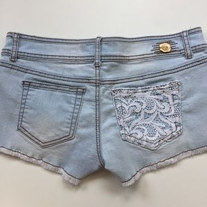 1st Kiss Shorts - 1st kiss Jean short