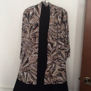 Dress Barn Jackets & Blazers - Cardigan/Top