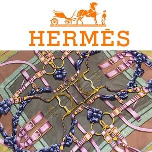 Hermes Accessories - 🐎Authentic 1990 Hermes Silk Scarf 🐎
