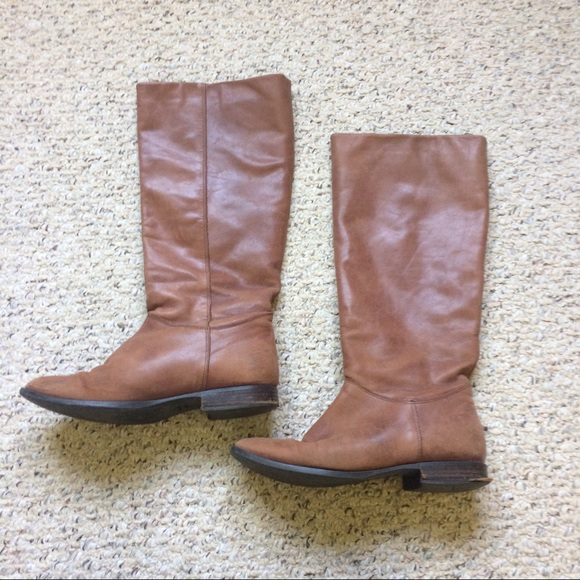 80 Off Vintage Shoes Lavorazione Artigiana Brown Knee