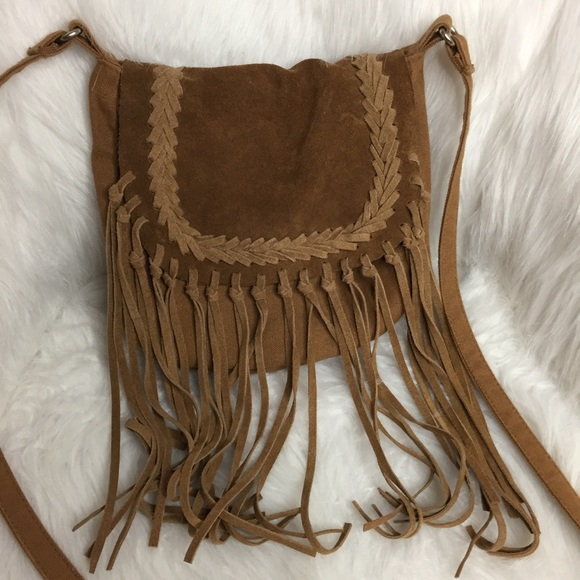 American Eagle Outfitters Bags - American Eagle Outfitters AEO Fringe Crossbody Bag