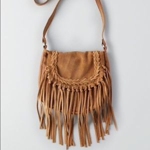 American Eagle Outfitters AEO Fringe Crossbody Bag