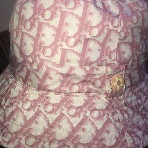 0e883cd4428 Dior Accessories - DIOR pink monogram bucket hat