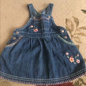 Osh Kosh Other - Osh kosh jean dress 9 months