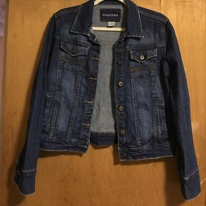Maurice's jean jacket size M