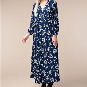 Dresses & Skirts - NEW! MAXI DRESS L/S NWT