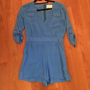 Yumi Kim blue romper. Size XS