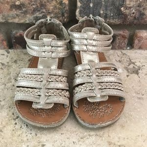 Gladiator sandals - gold