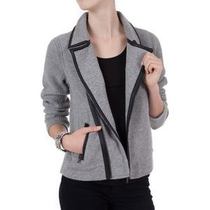 Rag & Bone Adrienne Biker Sweater Jacket