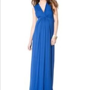 Isabella Oliver Dresses & Skirts - Isabella Oliver by A Pea in a Pod blue maxi dress