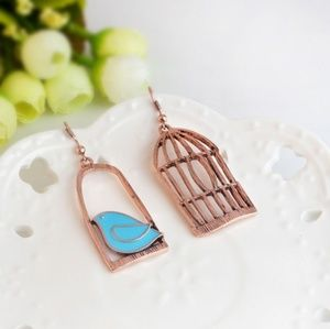 Jewelry - NEW birdcage dangles