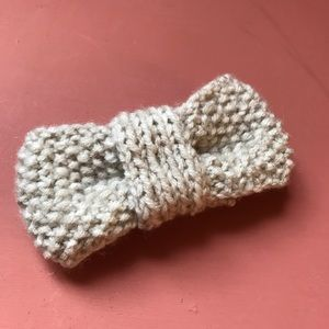 Accessories - SALE Knitted bow barrette