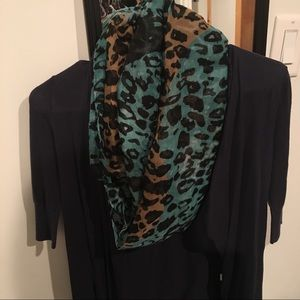 Accessories - Cheetah Print Infinity Scarf