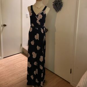 Old Navy jersey full length summer dress