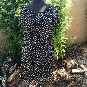 Zara Elastic Waist Dress