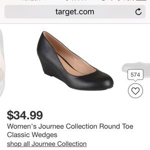 Journee Collection Shoes - EUC Wedge Heels. Very comfortable!