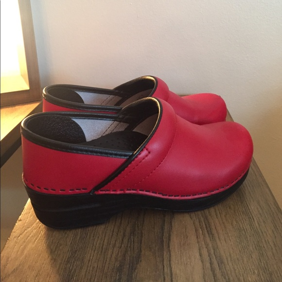 74dae97d8ef Dansko Shoes - Red dansko clogs from Nordstrom.