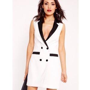 Missguided Dresses & Skirts - NWT Missguided Sleeveless Blazer Dress