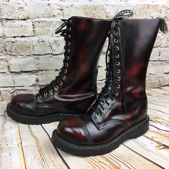 Grinders Herald Burgundy Steel Toe